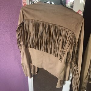 Forever21 faux suede jacket